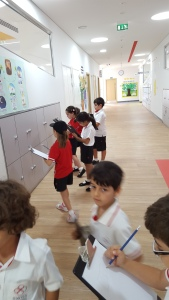How can we use multiplication using what we know about one group of lockers?