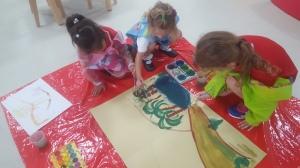 Teamwork Painting